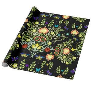 William Morris Floral Wrapping Paper