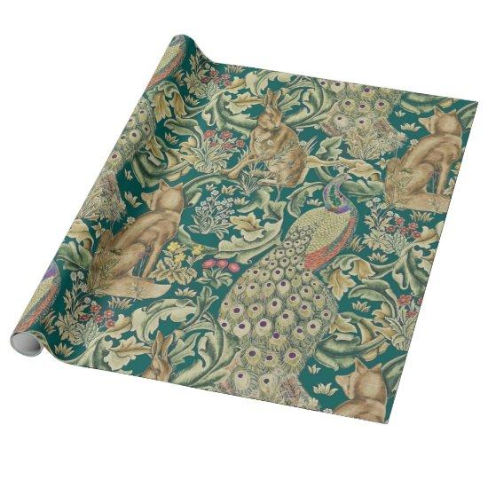 William Morris Forest Wrapping Paper