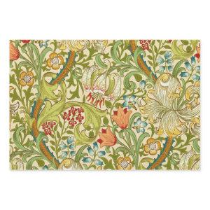 William Morris Golden Lily Vintage Pre-Raphaelite Wrapping Paper Sheets