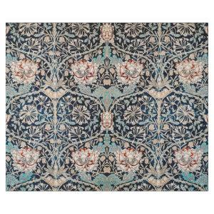 WILLIAM MORRIS HONEYSUCKLE IN BLUE DECOUPAGE WRAPPING PAPER