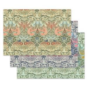 William Morris Peacock and Dragon  Sheets