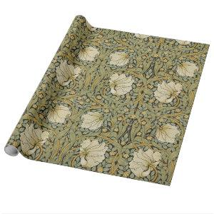 William Morris Pimpernel Vintage Pre-Raphaelite Wrapping Paper