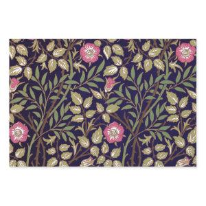 William Morris Sweet Briar Floral Art Nouveau Wrapping Paper Sheets