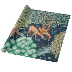 William Morris The Brook Wrapping Paper