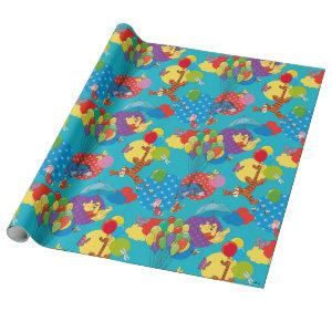 Winnie the Pooh | Among the Balloons Pattern Wrapping Paper