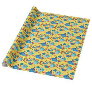Winnie the Pooh | Up and Away Pattern Wrapping Paper