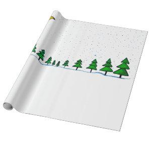 Winter Night created by Ruxandra Carter Wrapping Paper