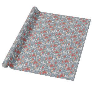 Winter Scandinavian Style Pattern Wrapping Paper