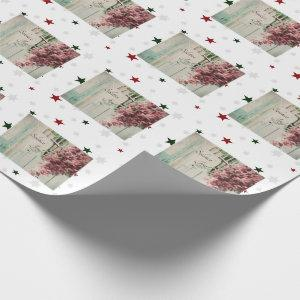 Winter Solstice Joy December Berries Wrapping Paper