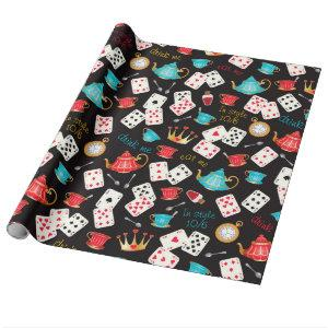 Wonderland Prints Wrapping Paper
