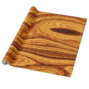 Wood Grain Texture Background Wrapping Paper