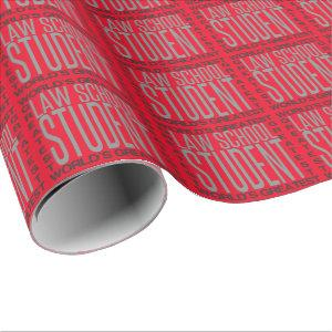 Worlds Greatest Law School Student Wrapping Paper