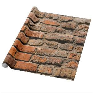 Worn Bricks Wrapping Paper