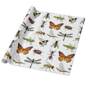 Wrapping Paper COOL INSECTS