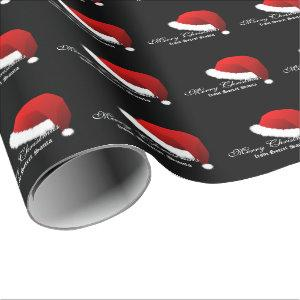 Wrapping paper Merry Christmas From Secret Santa