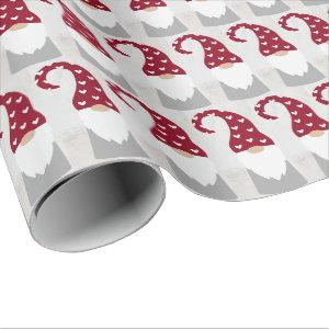 Wrapping Paper - Nordic Christmas Gnome