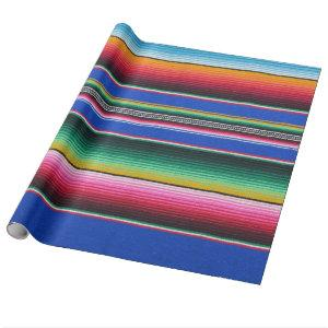 Wrapping Paper,serape print Violet Wrapping Paper
