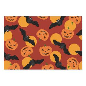 Wrapping Paper with Halloween Pattern