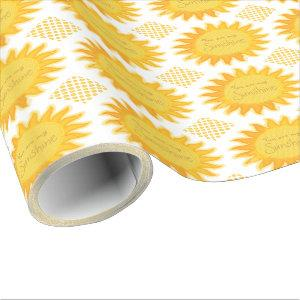 You are my Sunshine Wrapping Paper