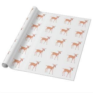 Young Fawn Wrapping Paper