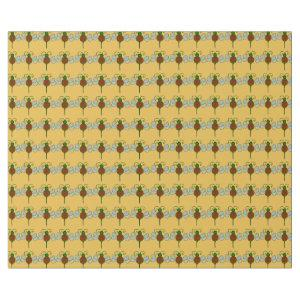 Yule Bees Wrapping Paper