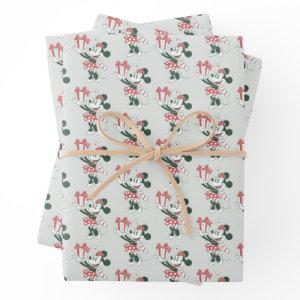 Yuletide Joy | Minnie Noel Wrapping Paper Sheets