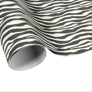 Zebra Animal Print Wrapping Paper